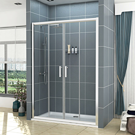 Noble 6mm Double Sliding Shower Door - Various Sizes