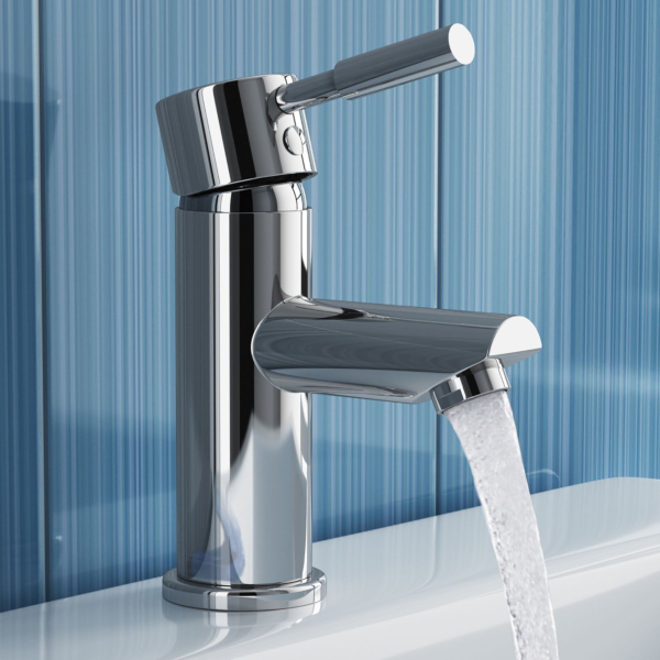 Premier Series 2 Single Lever Mono Basin Mixer Tap with waste