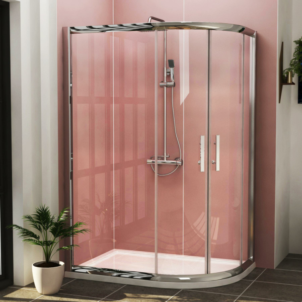 Imperial Offset Quadrant Shower Enclosure Reversible - Various Sizes
