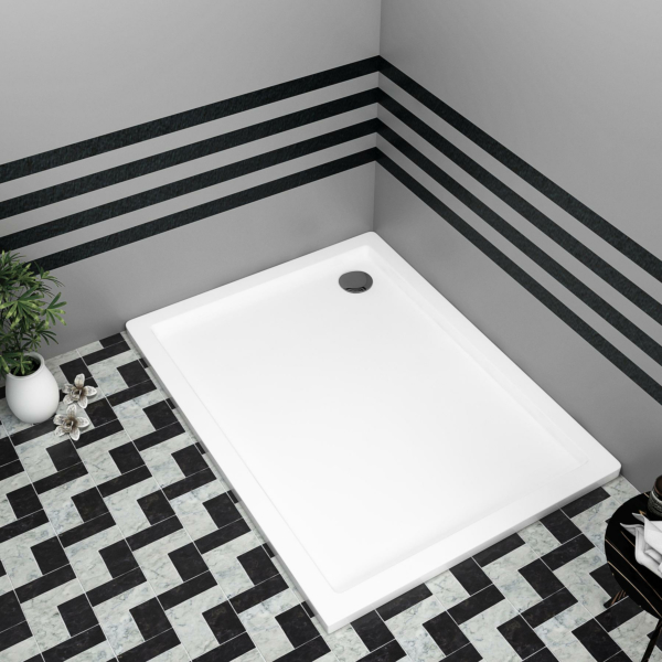Rectangular Pearlstone Shower Tray 900 x 800 x 40
