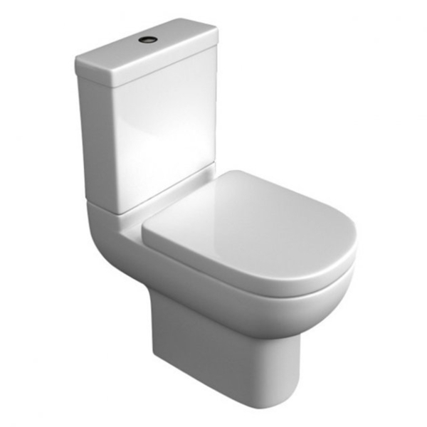 Kartell Studio Close Coupled Toilet and Soft Close Seat with Cistern