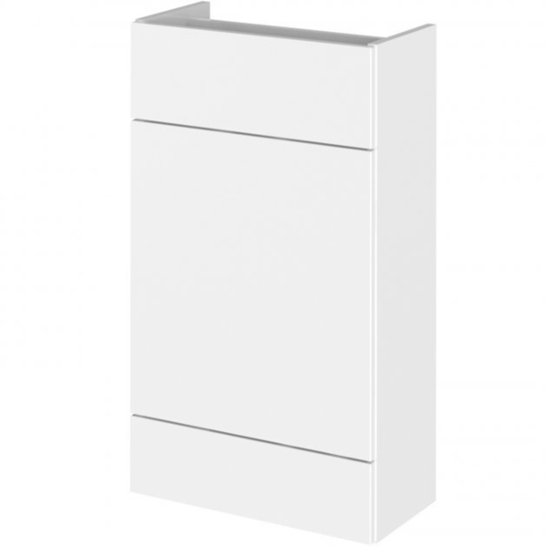 500mm Hudson Reed Fusion Compact Back To Wall WC Unit  - Gloss White