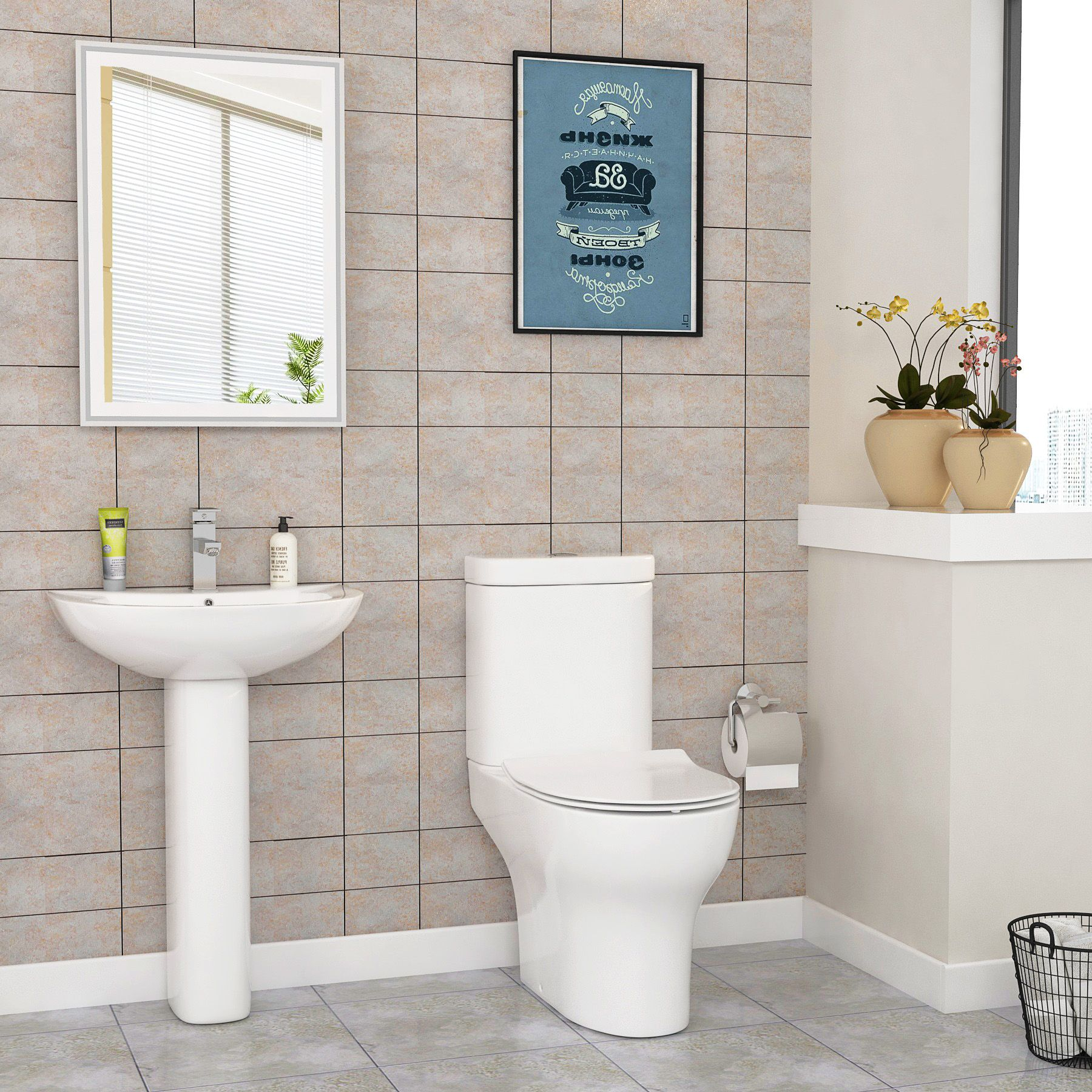 Determine the best Toilets and Basins for suites