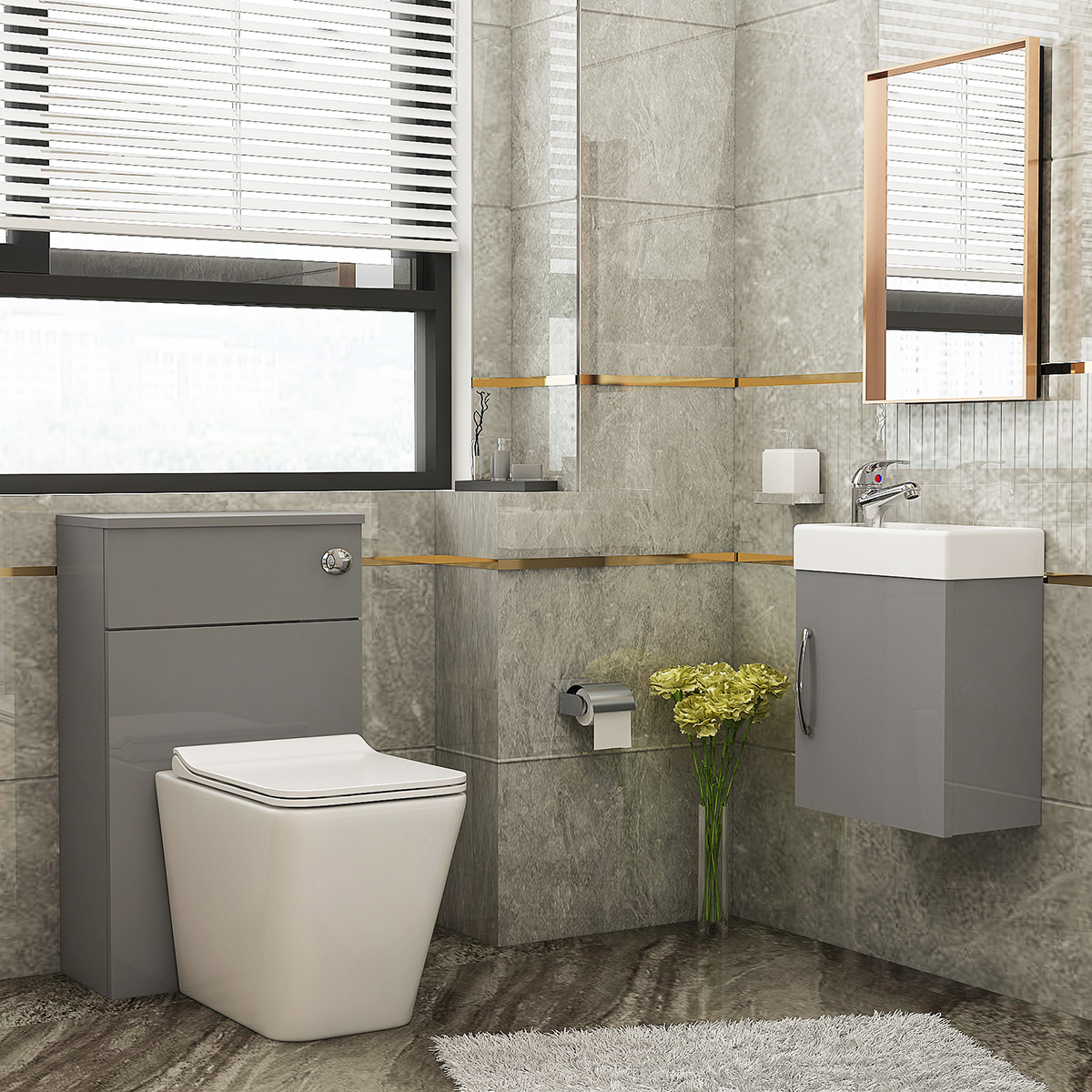 5 Ways to Make Your Bathroom Without Windows Look Bright and Beautiful