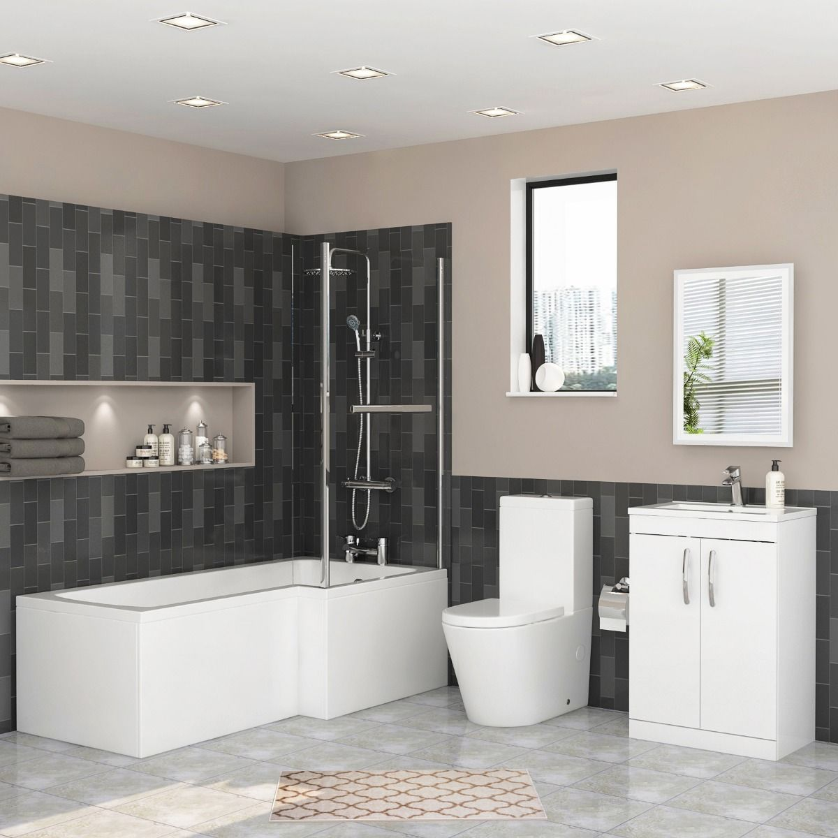 Get Inspirational Dream Bathroom With Our Luxury Products