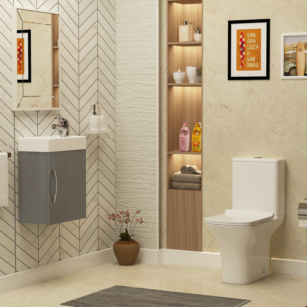 Factors that make a bathroom unhygienic and how these can be fixed?